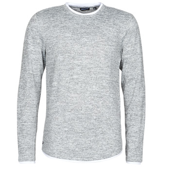 vaatteet Miehet T-paidat pitkillä hihoilla Deeluxe MOHANSON Grey