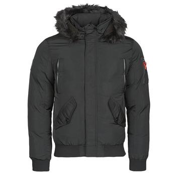 vaatteet Miehet Parkatakki Deeluxe SHARK Black