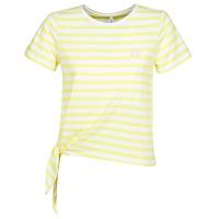vaatteet Naiset Lyhythihainen t-paita Only ONLBRAVE Yellow