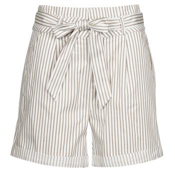 vaatteet Naiset Shortsit / Bermuda-shortsit Vero Moda VMEVA Valkoinen / Beige