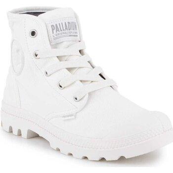 kengät Naiset Korkeavartiset tennarit Palladium US Pampa HI F 92352-116-M white