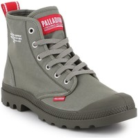 kengät Korkeavartiset tennarit Palladium Manufacture Pampa HI Dare 76258-325-M olive green