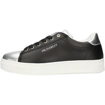 kengät Naiset Matalavartiset tennarit Trussardi 79A004789Y099999 Black