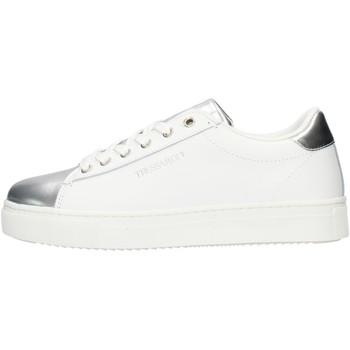 kengät Naiset Matalavartiset tennarit Trussardi 79A004789Y099999 White
