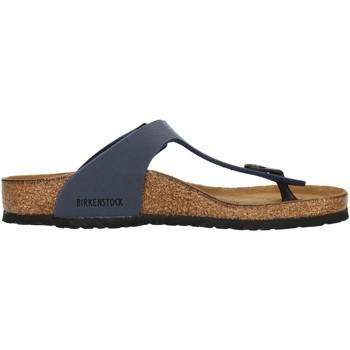 kengät Lapset Varvassandaalit Birkenstock 0345443 Blue