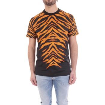 vaatteet Miehet Lyhythihainen t-paita Versace B3GVB7DF-30377 Nero