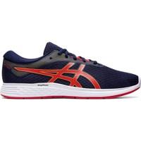 kengät Miehet Juoksukengät / Trail-kengät Asics Patriot 11 Valkoiset,Punainen,Tummansininen