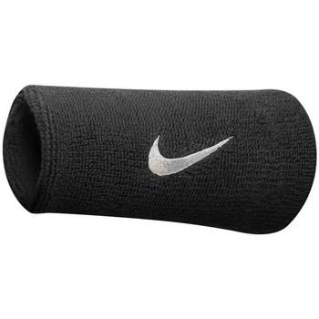 Asusteet / tarvikkeet Urheiluvarusteet Nike Poignets éponge  swoosh doublewide noir