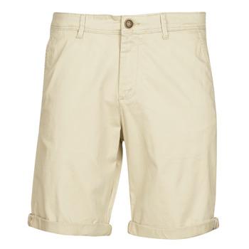 vaatteet Miehet Shortsit / Bermuda-shortsit Jack & Jones JJWHITEPEPPER Beige