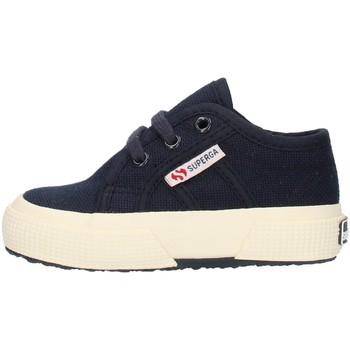 kengät Lapset Matalavartiset tennarit Superga 2750S0005P0933 Blue