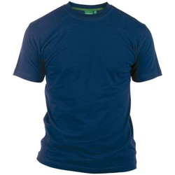 vaatteet Miehet Lyhythihainen t-paita Duke  Navy