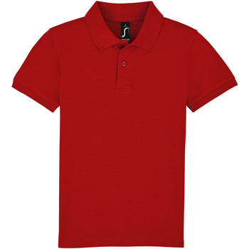 vaatteet Lapset Lyhythihainen poolopaita Sols PERFECT KIDS COLORS Rojo