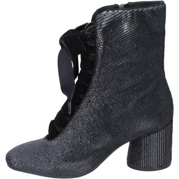 kengät Naiset Nilkkurit Elvio Zanon Nilkkasaappaat BM12 Musta