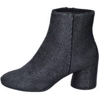 kengät Naiset Nilkkurit Elvio Zanon Nilkkasaappaat BM13 Musta