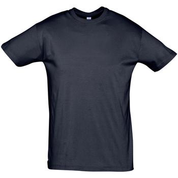 vaatteet Miehet Lyhythihainen t-paita Sols REGENT COLORS MEN Azul