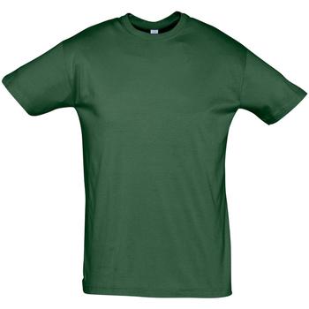 vaatteet Miehet Lyhythihainen t-paita Sols REGENT COLORS MEN Verde