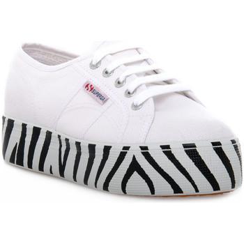 kengät Naiset Matalavartiset tennarit Superga 901 OUTSOLE LETTERING Bianco