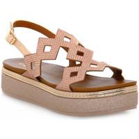 kengät Naiset Sandaalit ja avokkaat Café Noir CAFE ' NOIR 333 FRATE CON STRASS Rosa