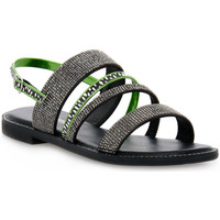 kengät Naiset Sandaalit ja avokkaat Café Noir CAFE ' NOIR 2585 FRATE CON STRASS Grigio