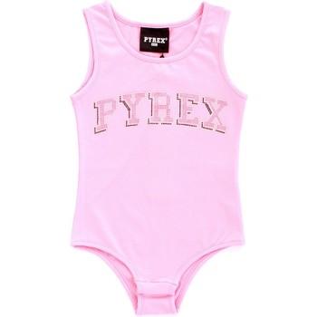 vaatteet Tytöt Hihattomat paidat / Hihattomat t-paidat Pyrex 024858 Rosa