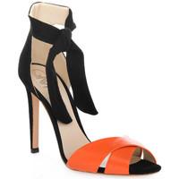 kengät Naiset Sandaalit ja avokkaat Gianni Marra NAPPA ARANCIO Rosso
