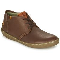kengät Miehet Bootsit El Naturalista METEO Brown
