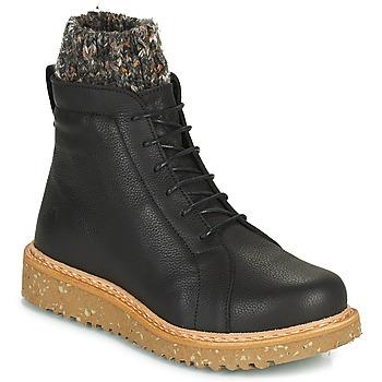 kengät Naiset Bootsit El Naturalista PIZARRA Black