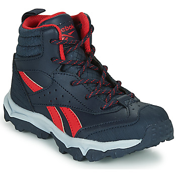kengät Pojat Matalavartiset tennarit Reebok Sport RUGGED RUNNER MID Black / Red
