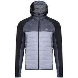 vaatteet Miehet Toppatakki Dare 2b  Black/Aluminium/Ebony
