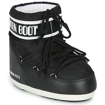 kengät Naiset Talvisaappaat Moon Boot MOON BOOT CLASSIC LOW 2 Musta