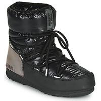 kengät Naiset Talvisaappaat Moon Boot MOON BOOT LOW ASPEN WP Black