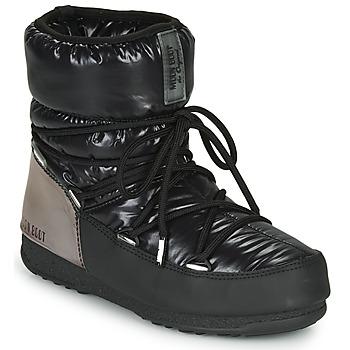 kengät Naiset Talvisaappaat Moon Boot MOON BOOT LOW ASPEN WP Musta