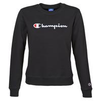 vaatteet Naiset Svetari Champion HEAVY COMBED COTTON FLEECE Musta