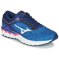 kengät Miehet Juoksukengät / Trail-kengät Mizuno WAVE SKY RISE Sininen