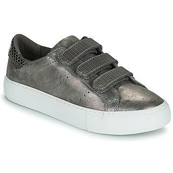 kengät Naiset Matalavartiset tennarit No Name ARCADE STRAPS Grey