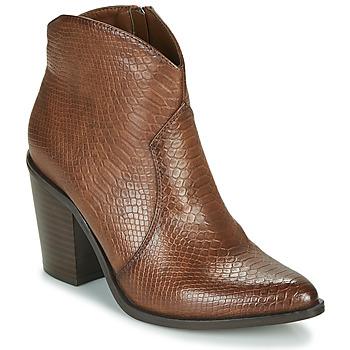kengät Naiset Nilkkurit MTNG 50187-C50166 Ruskea