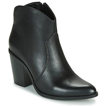 kengät Naiset Nilkkurit MTNG 50187-C50074 Black