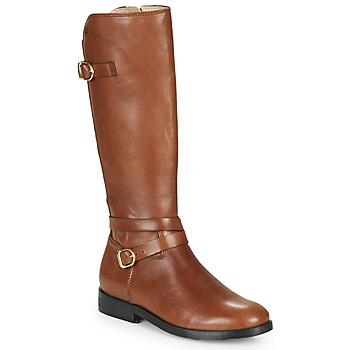 kengät Tytöt Saappaat Acebo's 9863-CUERO-T Ruskea