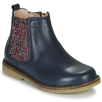 kengät Tytöt Bootsit Acebo's 5274-MARINO-J Laivastonsininen