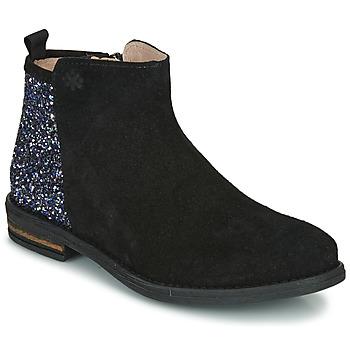 kengät Tytöt Bootsit Acebo's 8035-NEGRO-J Musta