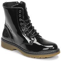 kengät Tytöt Bootsit Bullboxer AOL501E6LGBKPT Musta