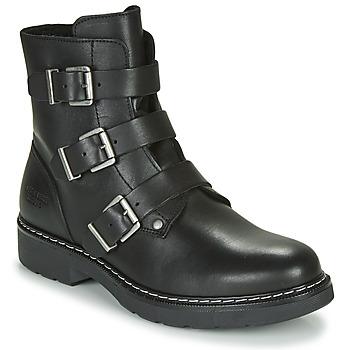 kengät Tytöt Bootsit Bullboxer AOL520E6L-BLCK Black