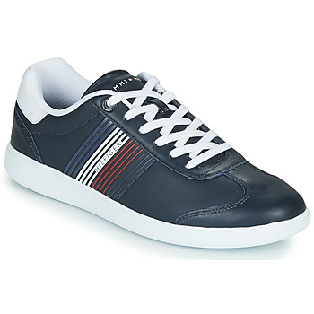 kengät Miehet Matalavartiset tennarit Tommy Hilfiger ESSENTIAL CORPORATE CUPSOLE Blue / White / Red