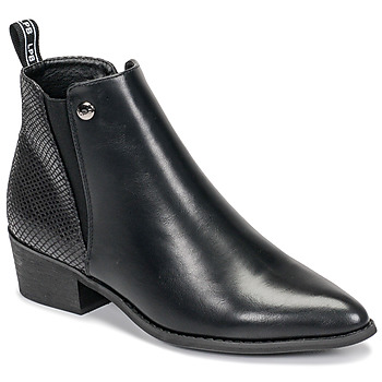 kengät Naiset Bootsit Les Petites Bombes ANTONELLA Musta