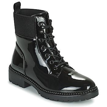 kengät Naiset Bootsit Les Petites Bombes AMBELLINE Black