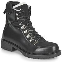 kengät Naiset Bootsit Les Petites Bombes ALANNA Musta