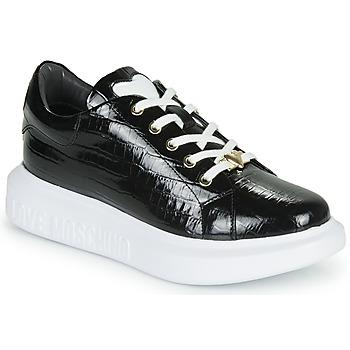 kengät Naiset Matalavartiset tennarit Love Moschino JA15494G0B Black