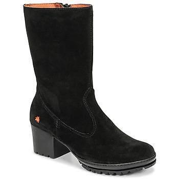 kengät Naiset Saappaat Art CAMDEN Black