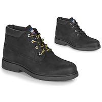 kengät Miehet Bootsit Tommy Jeans LOW CUT TOMMY JEANS BOOT Black