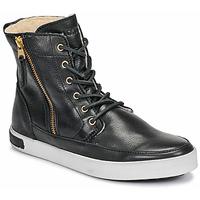 kengät Naiset Korkeavartiset tennarit Blackstone CW96 Musta